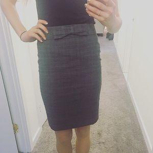 Loft 🎀 Pencil Skirt with Bow
